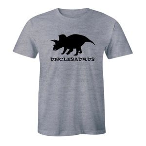 Unclesaurus - Funny Dinosaur Uncle Men's T-shirt